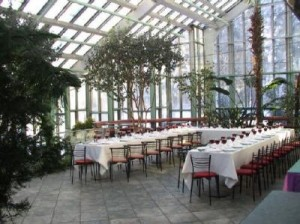 Ботанический сад неподалёку от телебашни в Таллине