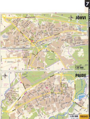 Карта Йыхви, Карта Пайде 2011 г.