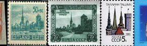 <br /> Город на почтовой марке