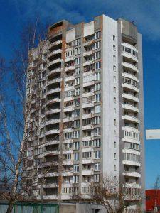 """""""Свечка"""" района Пельгулинна. Март 2007 года."""