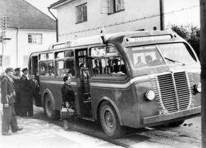 1939 год. Автобусная линия улиц: Веерени-Ристику. Таллин