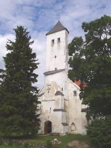 Колокольня церкви Харью-Ристи – весь ассортимент геометрических форм.