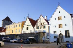 Место, где находился городской арсенал в ХIV —XVI вв. (улица Рюйтли).