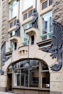 Архитектор Жак Розенбаум. Дом «У Дракона».