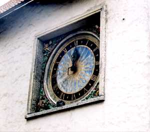 Часы Пюхавайму — старейшие работающие часы в Европе.