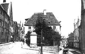 Улица Олевимяги в XIX веке — бывшая портовая улица вика.