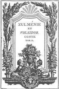 Заглавный лист Клемана Пьера Марилье (1776). Cтиль рококо.