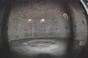 Склеп в подвальном помещении Северной башни.