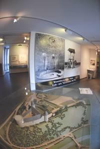 Экспозиция в краведческом музее Вевельсбурга.