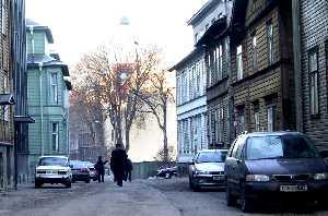Улица Каупмехе.