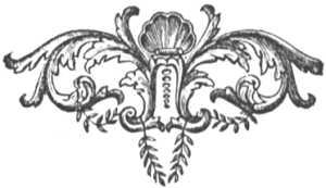 Французская виньетка. Стиль рококо (1715).