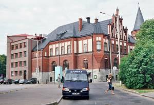 Деловой центр Таллинна определила группа банковских зданий вдоль бульвара Эстония. Их три - первое построили в 1904 году в стиле ганзейской готики по проекту архитектора А.Рейнберга.