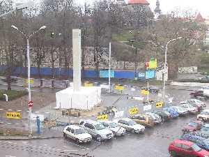 Вопрос о создании в Таллинне монумента Свободы решен, авторитетное жюри вынесло свой вердикт, определено и место его установки. Скульптурная композиция будет на площади Вабадусе, у новой подпорной стены горки Харью.