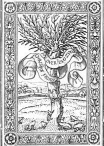 Типографский знак Г. Гольбейна.
