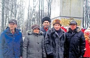 Ветераны из Эстонии и бывшие партизаны из Великих Лук.