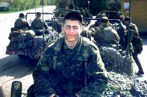 На последних крупных учениях Сил обороны Kevadtorm 2003. Фото автора