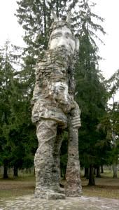 Герой эстонского эпоса - таким, как представлял его себе барон Николай фон Глен.