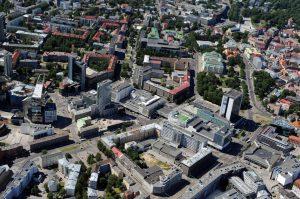 """Таллин. Сити. Гостиница """"Виру"""". Tallinn. City."""