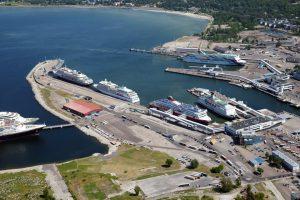 """В нашу гавань, заходили корабли..."" Таллинский порт."