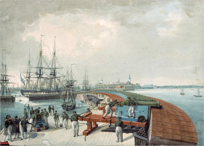 Когда Таллинн стал морской крепостью.