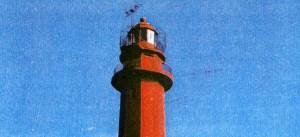 Изображение маяка Найссаар часто украшает собой открытки и справочные пособия для туристов