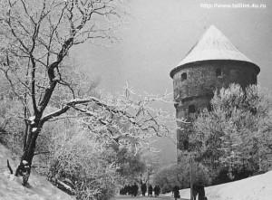 Крепостная башня «Кик ин де Кек». Фото А.Рятсеп 1968г.