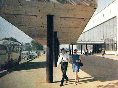 Таллин 70-х или 60-х. Балтийский вокзал