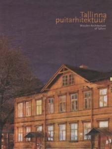 Мотив исторической застройки таллиннских предместий — на обложке книги.