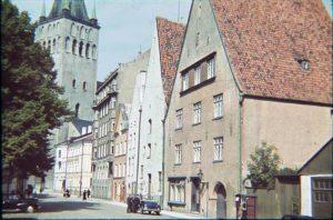 Улица Лай. Таллин 1939 г.