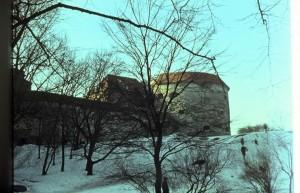Башня Толстая Маргаритта. Таллин. Холодное время. Tallinn. Cold time.