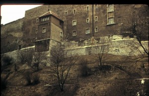Крепостная стена Верхнего Таллина. Магическое место.