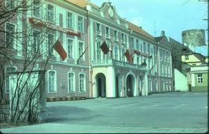 Здание Верховного Совета ЭССР. Ныне, Рийгикогу. Таллин