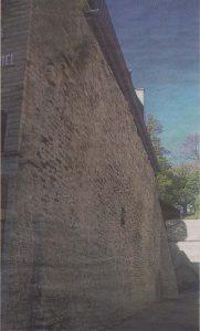 Начало улицы Рюйтли — Козья башня стояла где-то здесь.