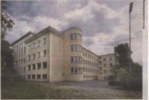 Улица Кеваде: «новое» здание гимназии Вестхольма.