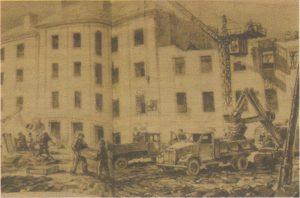 Пафос восстановления отОлева Соанса и Асты Вендер, 1952 год.