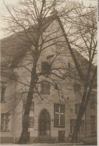 Две липы у крыльца дома на улице Лай, 29 — память о Петре I или старейшем бульваре?