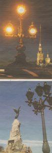 Фонари таллиннской сборки освещают дорогу петербуржцам, петербургской — украшают ансамбль памятника «Русалке» в Таллинне.