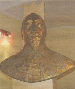 Густав II Адольф, основатель старейшей таллиннской гимназии в ее интерьере.