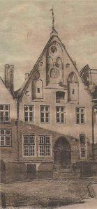 Так называемый, «Дом епископа» — самое известное в Таллинне жилище типа «отец и сын»..