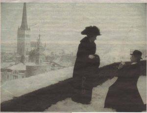 «Супругу напрокат» главный герой старейшей таллиннской ленты смог найти на смотровой площадке Паткули.
