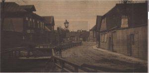 Река Харьяпеа на нынешней улице Йые. Конец XIX — начало XX века.