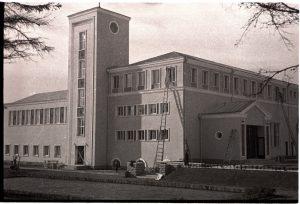 Коплиский народный дом непосредственно перед открытием — осенью 1937 года.