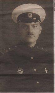 Офицер подводного плавания Василий Алексеевич Меркушев.