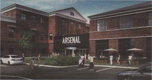 Таким должен стать внутренний двор бывшего завода «Арсенал» в ближайшее время.