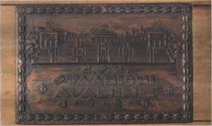 Настольная медаль в честь открытия Национального стадиона в Кадриорге.