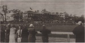 Спортивный праздник на вновь открытом стадионе 13 июня 1926 года.