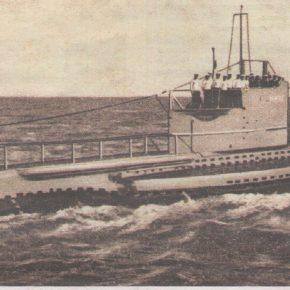 Подводная лодка «Лембит». Почтовая открытка 1937 года.