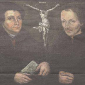 Двойной портрет Мартина Лютера и Филиппа Меланхтона из церкви Пюхавайму.