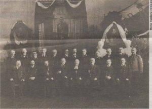 Преподаватели ревельской Александровской гимназии. Фото начала XX века.