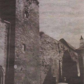 Бременская башня до реставрации. Фото пятидесятых годов прошлого века.